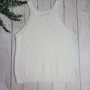 kidpik GIRLS Halter Sweater Tank Top